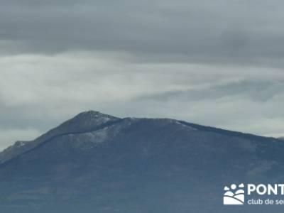 Circo de la Puebla. Sierra del Rincón;club de viajes;caminos y senderos